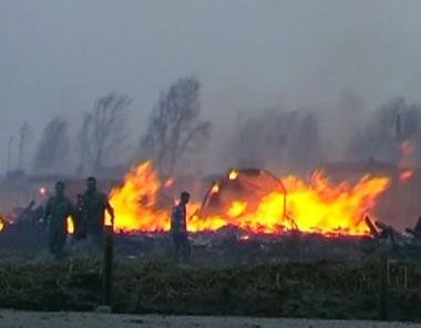 الحرائق تجتاح 3 مناطق روسية