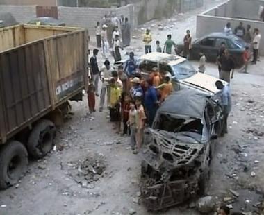 آثار العنف في العراق