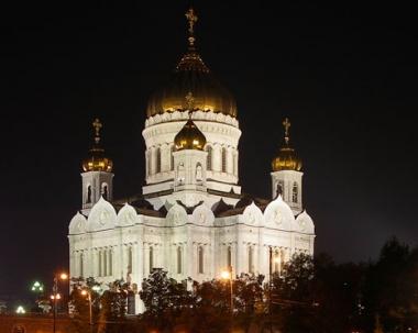 الشعلة المباركة وصلت الى موسكو