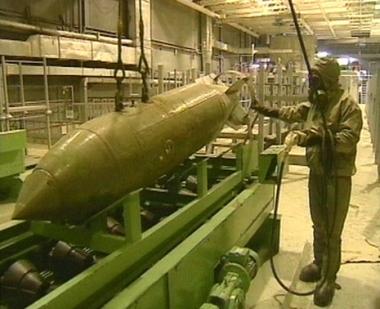 روسيا تدمر 27% من أسلحتها الكيميائية