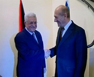 حديث عن إحراز تقدم في لقاء عباس أولمرت