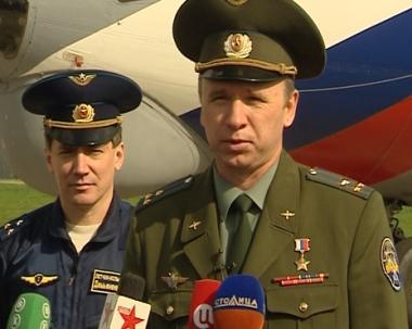 طائرات روسية تستعد لتنقية سماء موسكو في عيد النصر