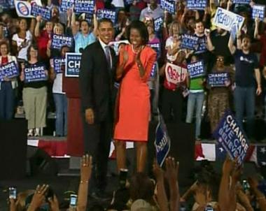 أوباما يفوز بكارولينا الشمالية وكلينتون بإنديانا