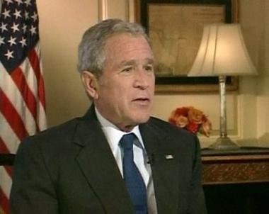 تحريك مفاوضات السلام في اجندة زيارة بوش لاسرائيل