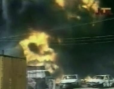 مصرع 100 شخص في نيجيريا جراء إنفجار انبوب نفط