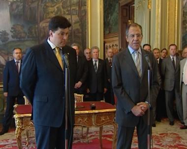 لافروف ومارغيلوف في تقديم الكتابين