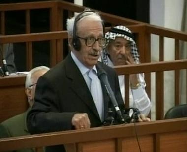 عزيز يتهم حزب الدعوة بالوقوف وراء محاكمته