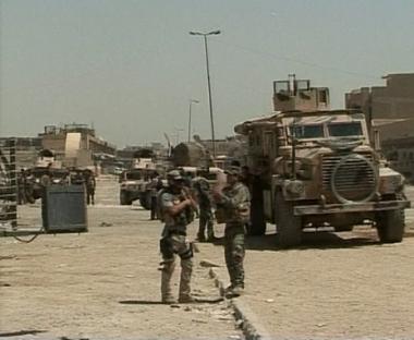 تفاؤل كروكر يأتي في غضون استمرار لأعمال العنف في العراق