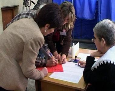 إلغاء نتائج بعض المراكز في الانتخابات الجورجية