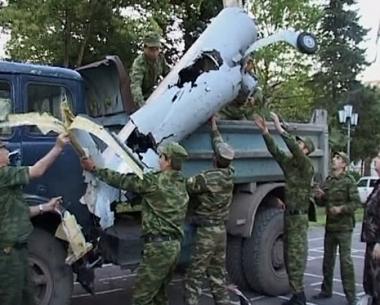 مزاعم اممية حول تورط روسيا باسقاط طائرة جورجية