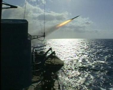 تدريبات سفينة القيادة لأسطول المحيط الهادئ الروسي