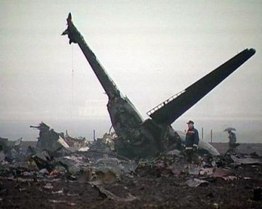 مدفيديف يقدم تعازيه لأسر ضحايا الطائرة المنكوبة