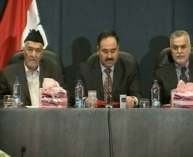 جبهة التوافق تقرر تعليق مفاوضاتها مع حكومة المالكي