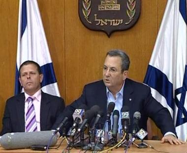 باراك يطالب أولمرت بالتنحي عن رئاسة الوزراء الاسرائيلية