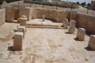 كنيسة القديس جورجيوس حيت أجريت حفريات