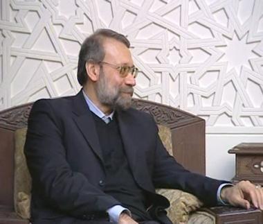 لاريجاني يرحب بالمفاوضات حول الأزمة النووية