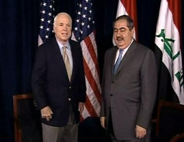 الوضع في العراق على طاولة لقاء ماكين وزيباري