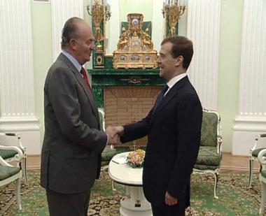 العلاقات الروسية الاسبانية تتطور بنجاح
