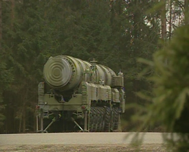 صواريخ عابرة للقارات من طراز