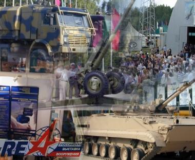 الدبابات والطائرات والمدافع في معرض نيجني تاغيل للاسلحة