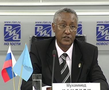 سفير الصومال لدى روسيا  محمد خندولي