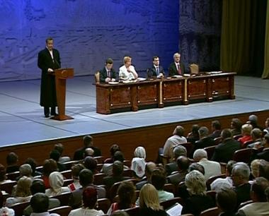وفد إستونيا ينسحب من جلسة مؤتمر خانتي مانسيسك