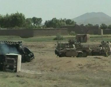 مقتل 28 مسلحا من طالبان في هجوم للناتو بأفغانستان