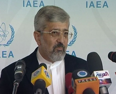 سفير إيران لدى وكالة الطاقة الذرية علي أصغر سلطانية