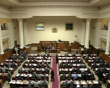 انتخاب دافيد باكرادزيه رئيسا جديدا  للبرلمان الجورجي