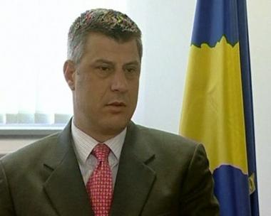 رئيس وزراء كوسوفو هاشم تاتشي