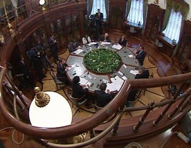 لقاء الرئيس مدفيديف مع ممثلي وسائل الإعلام