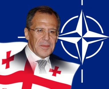 لافروف:ان انضمام جورجيا الى الناتو لن يحل مشكلتي ابخازيا واوسيتيا الجنوبية