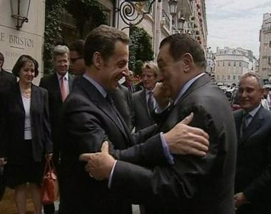 العلاقات الثنائية والسلام على طاولة ساركوزي ومبارك