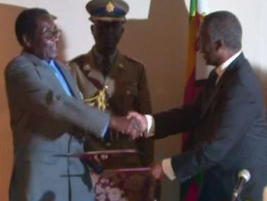 زيمبابوي الى طي صفحة  صراع السلطة