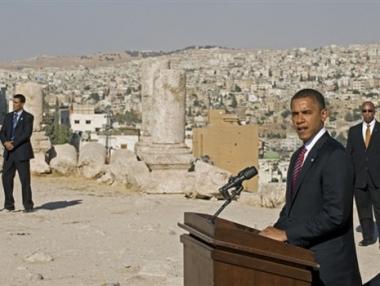 اوباما: يجب تقديم تنازلات مؤلمة لبلوغ السلام في الشرق الاوسط