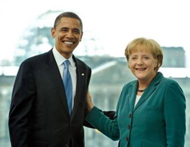العلاقات عبر الأطلسي على رأس جدول أعمال أوباما في ألمانيا