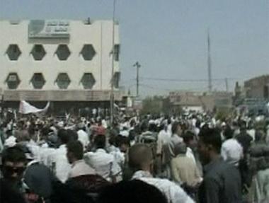 تظاهرات في كركوك احتجاجا على مطالبة الكرد ضمها للاقليم