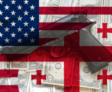 الولايات المتحدة لم تبخل بالدولارات لاعداد تبليسي للحرب في القوقاز