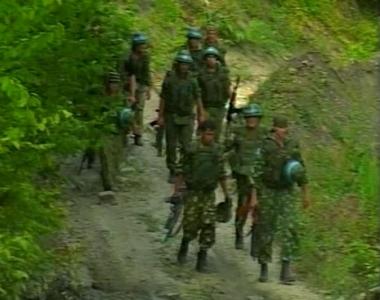 القوات الابخازية في منطقة وادي كادوري