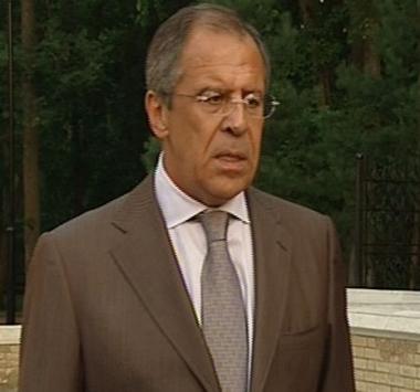 لافروف ينتقد تصريحات بوش بشأن الوضع في القوقاز
