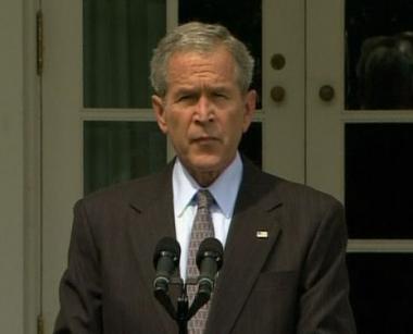 بوش يتخذ إجراءات لدعم الحكومة الجورجية