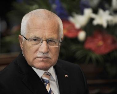 الرئيس التشيكي: ينتقد مواقف دول البلطيق من أحداث جورجيا