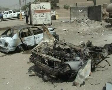 مقتل 15 شخصا واصابة 29 آخرين في بغداد