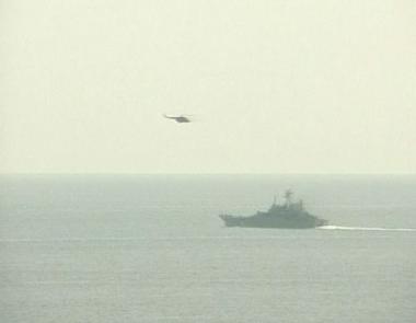 السفن العسكرية الروسية تمنع طائرة مجهولة من التسلل إلى أجواء أبخازيا