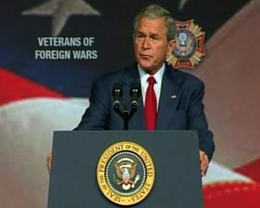 بوش يؤكد دعم بلاده لنظام ساكاشفيلي