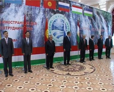 وزراء خارجية منظمة شنغهاي للتعاون (من الارشيف)
