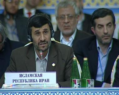 أحمدي نجاد: قوات الناتو في أفغانستان لم تستطع إحلال الاستقرار في المنطقة