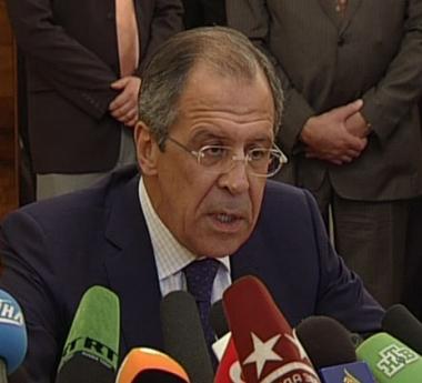 لافروف يطالب منظمة الأمن والتعاون بنشر تقرير لها يثبت تورط سآكاشفيلي