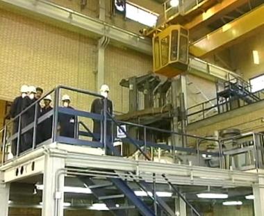 تشغيل مفاعل بوشهر يقترب من مراحله الحاسمة