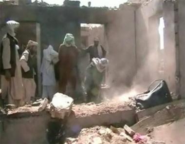 أطفال أفغانستان ضحايا القصف الأمريكي